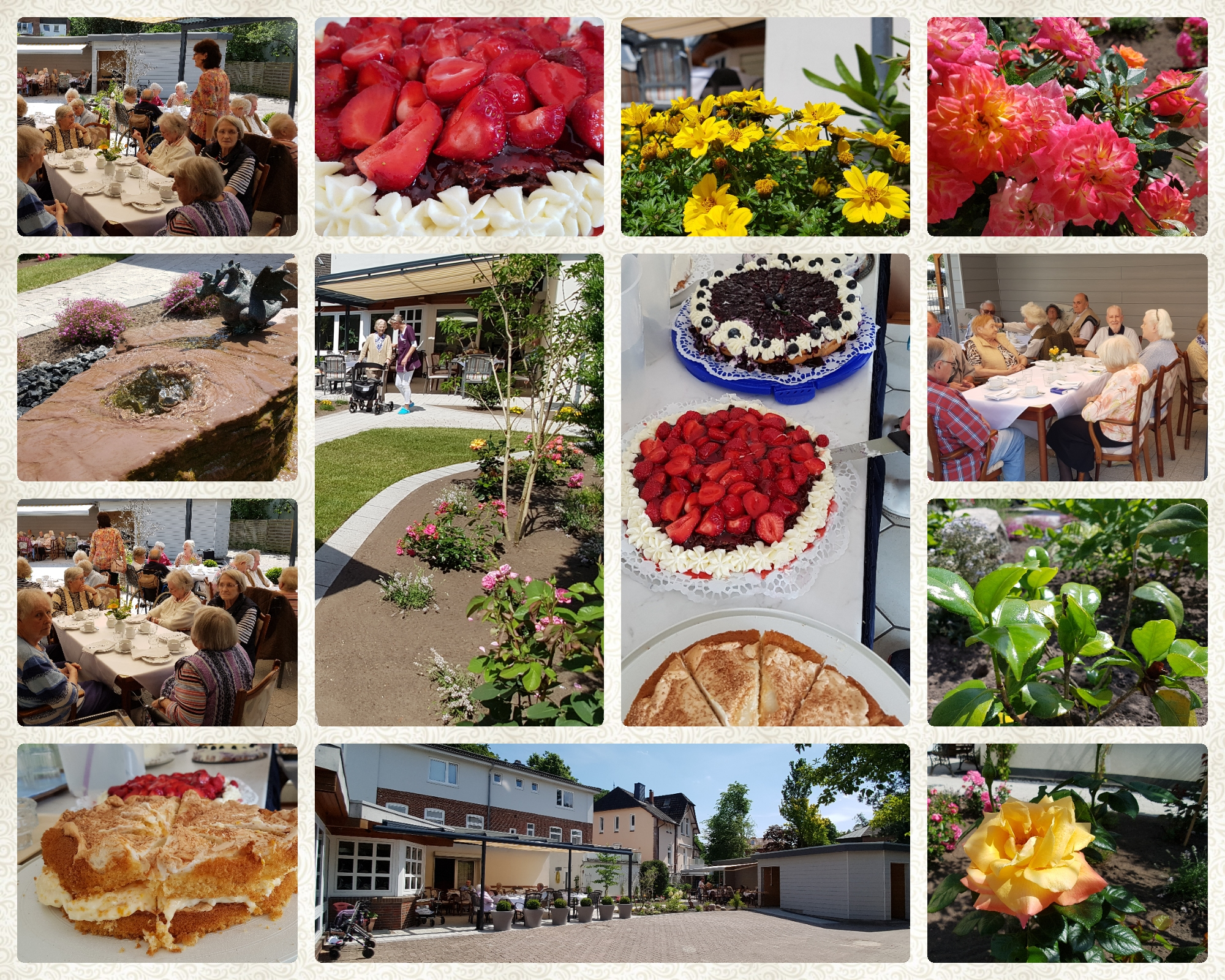 Der neue Garten - Haus Parkblick Bad Segeberg